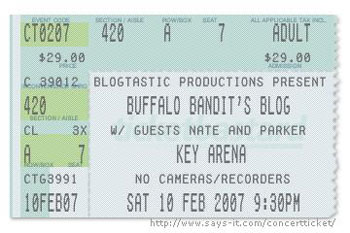 Buffalo Blog: Live in Concert
