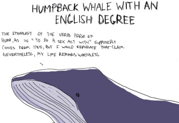 Humpback Whale with an English Degree