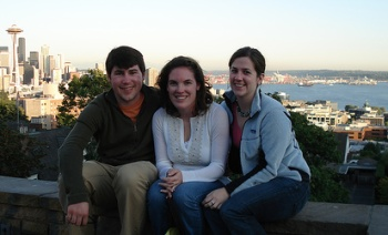 KJ, Meghan, and I at Kerry Park